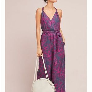 Anthropologie Portsmouth jumpsuit🌺🌺🌺